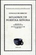 Portada de MILAGROS DE NUESTRA SEÑORA