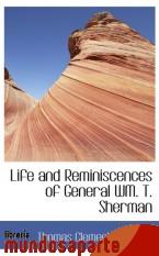 Portada de LIFE AND REMINISCENCES OF GENERAL WM. T. SHERMAN