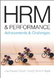 Portada de HRM AND PERFORMANCE: ACHIEVEMENTS AND CHALLENGES