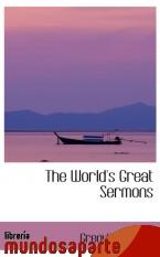 Portada de THE WORLD`S GREAT SERMONS