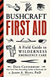 Portada de BUSHCRAFT FIRST AID: A FIELD GUIDE TO WILDERNESS EMERGENCY CARE