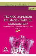 Portada de TECNICOS SUPERIOR EN IMAGEN PARA EL DIAGNOSTICO SERVICIO DE SALUDDE CASTILLA Y LEON . TEMARIO VOLUMEN II
