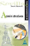 Portada de ADMINISTRATIVOS DEL AYUNTAMIENTO DE SEVILLA. TEMARIO. VOL.II