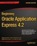 Portada de BEGINNING ORACLE APPLICATION EXPRESS 4.2