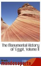 Portada de THE MONUMENTAL HISTORY OF EGYPT, VOLUME II