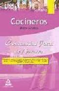 Portada de COCINEROS DE LA COMUNIDAD FORAL DE NAVARRA. TEMARIO PARTE JURIDICA
