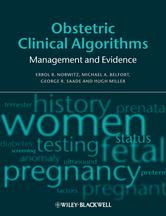 Portada de OBSTETRIC CLINICAL ALGORITHMS
