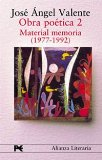 OBRA POETICA II:  MATERIAL MEMORIA