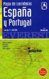Portada de MAPA DE CARRETERAS DE ESPAÑA Y PORTUGAL (1:1100000)
