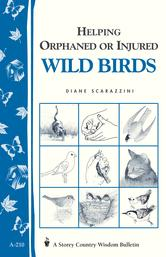 Portada de HELPING ORPHANED OR INJURED WILD BIRDS
