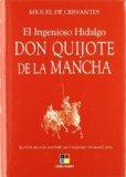 Portada de EL INGENIOSO HIDALGO DON QUIJOTE DE LA MANCHA