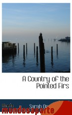 Portada de A COUNTRY OF THE POINTED FIRS