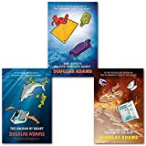 Portada de DOUGLAS ADAMS DIRK GENTLY 3 BOOKS COLLECTION SET, (DIRK GENTLY'S HOLISTIC DETECTIVE AGENCY, THE LONG DARK TEA-TIME OF THE SOUL & THE SALMON OF DOUBT: HITCHHIKING THE GALAXY ONE LAST TIME)