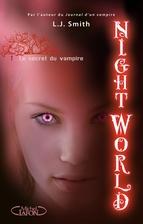 Portada de NIGHT WORLD, TOME 1: LE SECRET DU VAMPIRE (EBOOK)