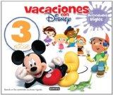 Portada de VACACIONES CON DISNEY 3 AÑOS: EDUCACION INFANTIL
