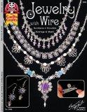 Portada de JEWELRY WITH WIRE: NECKLACES BRACELETS EARRINGS & MORE! (DESIGN ORIGINALS)