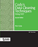 Portada de CODY'S DATA CLEANING TECHNIQUES USING SAS, SECOND EDITION (SAS PRESS) BY RON CODY (11-APR-2008) PERFECT PAPERBACK