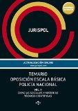 Portada de TEMARIO OPOSICIÓN ESCALA BÁSICA POLICÍA NACIONAL. CIENCIAS SOCIALES Y MATERIAS TÉCNICO-CIENTÍFICAS - VOLUMEN II (DERECHO - PRÁCTICA JURÍDICA)