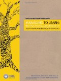 Portada de MANAGING TO LEARN: INSTRUCTIONAL LEADERSHIP IN SOUTH AFRICAN SECONDARY SCHOOLS