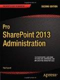 Portada de PRO SHAREPOINT 2013 ADMINISTRATION