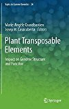 Portada de PLANT TRANSPOSABLE ELEMENTS. IMPACT ON GENOME STRUCTURE AND FUNCTION