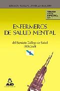 Portada de ENFERMEROS DE SALUD MENTAL DEL SERVICIO GALLEGO DE SALUD  . TEMARIO PARTE ESPECIFICA. VOLUMEN I