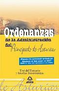 Portada de ORDENANZAS DEL PRINCIPADO DE ASTURIAS. TEST DEL TEMARIO Y PRUEBASPSICOTECNICAS
