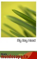 Portada de MY BOY HOOD