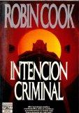 Portada de INTENCION CRIMINAL