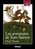 Portada de LES AVENTURES DE TOM SAWYER (CLASSICS A MIDA)
