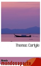 Portada de THOMAS CARLYLE