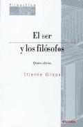 Portada de EL SER Y LOS FILOSOFOS