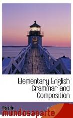 Portada de ELEMENTARY ENGLISH GRAMMAR AND COMPOSITION