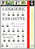 Portada de LEGGERE LE ETICHETTE (DIRITTO DEL CONSUMATORE)