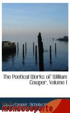 Portada de THE POETICAL WORKS OF WILLIAM COWPER, VOLUME I