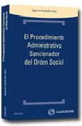 Portada de EL PROCEDIMIENTO ADMINISTRATIVO SANCIONADOR DEL ORDEN SOCIAL