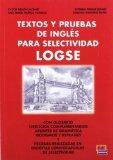 Portada de TEXTOS Y PRUEBAS DE INGLES PARA SELECTIVIDAD LOGSE