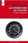 Portada de LA VERDAD ESTA EN EL LIMITE: EL CALCULO INFINITESIMAL