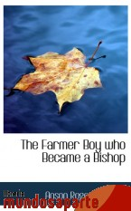 Portada de THE FARMER BOY WHO BECAME A BISHOP