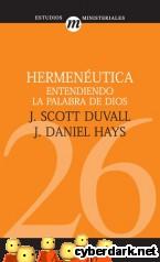 Portada de HERMENÉUTICA. ENTENDIENDO LA PALABRA DE DIOS - EBOOK