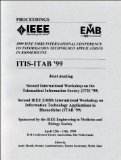 Portada de 1999 IEEE EMBS CONFERENCE ON INFORMATION TECHNOLOGY APPLICATIONS IN BIOMEDICINE