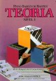 Portada de BASTIEN - TEORIA NIVEL 1º PARA PIANO