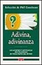 Portada de ADIVINA, ADIVINANZA