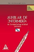 Portada de AUXILIARES DE ENFERMERIA DEL SERVICIO GALLEGO DE SALUD . TEST PARTE GENERAL