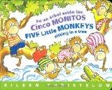 Portada de EN UN ARBOL ESTAN LOS CINCO MONITOS / FIVE LITTLE MONKEYS SITTING IN A TREE