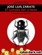 Portada de EL TAMAÑO DEL CRIMEN - EBOOK