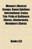 Portada de WOMEN'S MUSICAL GROUPS: SWEET ADELINES I