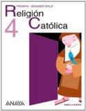 Portada de RELIGIÓN CATÓLICA 4