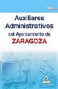 Portada de AUXILIARES ADMINISTRATIVOS DEL AYUNTAMIENTO DE ZARAGOZA. TEST