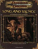 Portada de SONG AND SILENCE: A GUIDEBOOK TO BARDS AND ROGUES (DUNGEON & DRAGONS D20 3.0 FANTASY ROLEPLAYING) BY DAVID NOONAN (DECEMBER 01,2001)
